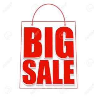 Big sale advertisement