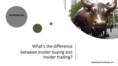 insider buying insider trading